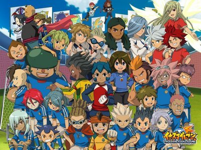 There's only one tht i can think of. Inazuma Eleven watch it if u like soccer. also it'z in english dub.