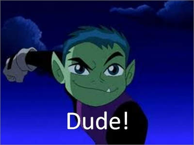 It's Beast Boy (Teen Titans) and Cahill (39 Clues, family name) What's not to get?