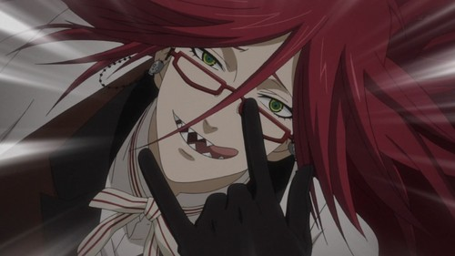 Grell. Fav color red.