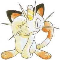 Meowth♥ (ignore the drool) forever inlove♥