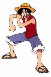 Monkey D. Luffy of One Piece!! He's the cutest boy ever!!!!!! I LOOOVEE HIM!!!!!!! XD!