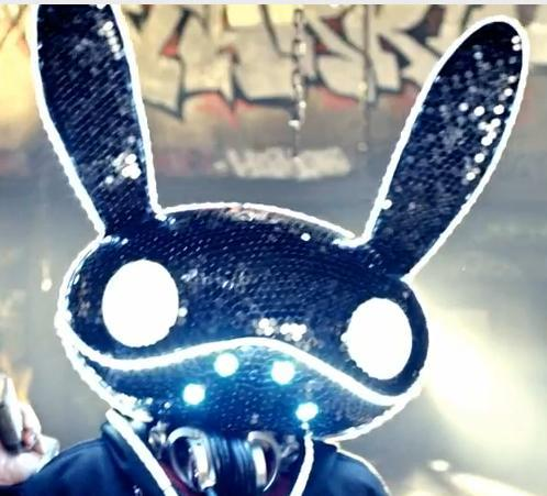 It means Black Rabbit. Look below