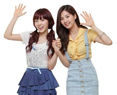 taeyeon and seohyun.. difficult to choose...huhuuhu