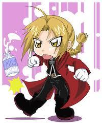 """""""Who would want to eat white liquid secreted from a cow!?"""" -Edward Elric"""