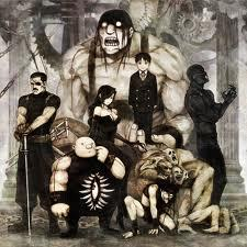 Oh god.. Not the homunculi! Although Greed I wouldn't mind so much :3