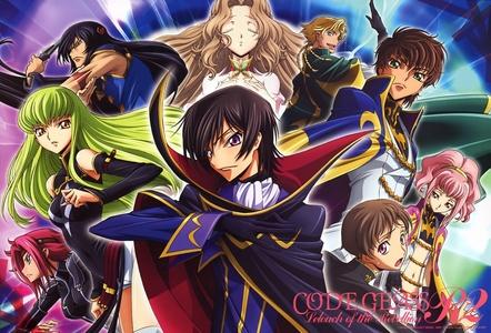 Anime: Tie between Code Geass and FMA Manga: Kuroshitsuji (Black Butler)