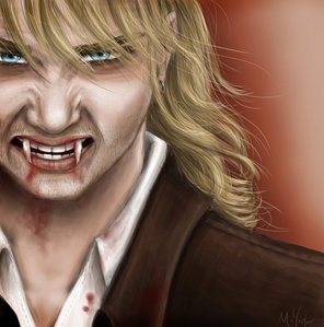 Behind Ты Don't look The End Near is Far and hell on crack baby 8D oh and, VAMPIRE KEITH HARKIN DRAWING 3!