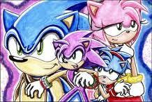 I say yes. Now since both of them are adults they can have kids. For those of bạn who don't know, since Sonic came out in 1991 he should be 20 bởi now. Since Amy came out in 1993 she should be 18. Since both of them are adults and are serious about being in tình yêu with each other than the chances of them having kids are very likely. Thank bạn for đọc this. ( The picture below is bởi KingPichu588 at Deviantart. )