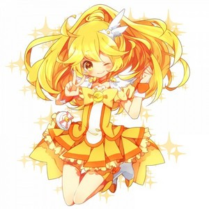 I have many favs! Dx I upendo Cure Peach, Cure Pine, Cure Rhythm, Cure Melody, and Cure Happy. As of right now Cure Peace is my favorite, she brings [I]moeness[/I] to a whole new level! xD