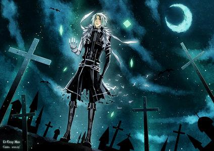 Anime: D.Gray-Man Name: Allen Walker Age: 15 Hair: white hair