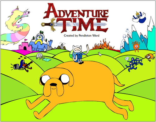 Adventure Time duh!!!!! but where I am it is 5:23