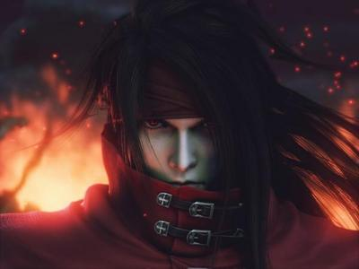 (I think) It was Vincent Valentine