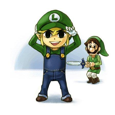 "Tell him: ""Sorry, I'm dating Luigi x)"""