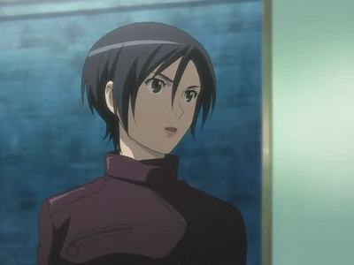 black hair... shes from blood+.