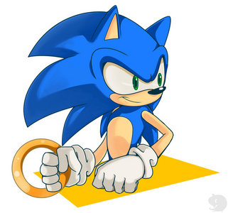 I don't really give a shit about the shit that SEGA gives Sonic.Love Sonic for Sonic,not his design.