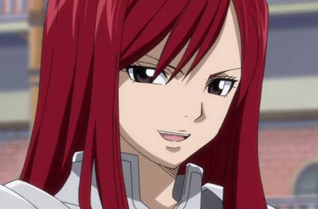 Erza from Fairy Tail. I Любовь red ^^