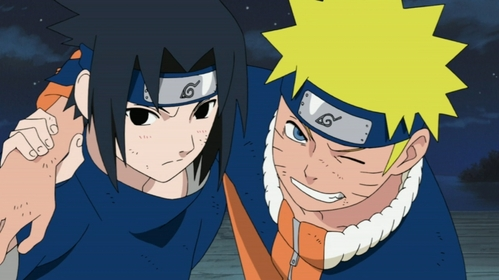 Black(Sasuke) an Yellow(Naruto) i luv both Цвета