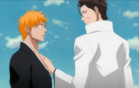 i hate orange(Ichigo) and brown(Aizen)