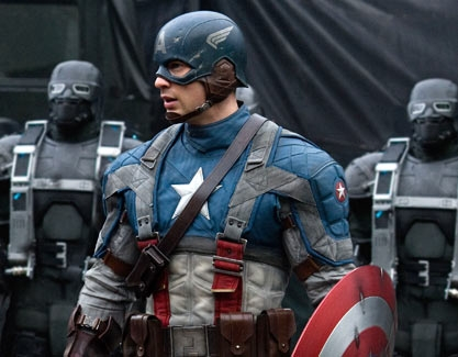 It's a superhero and I amor him<3 Captain America (or Chris Evans)