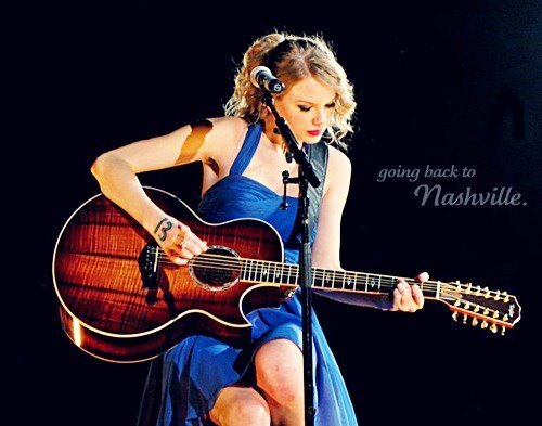 post a wide screen wallpaper of tay with her guitar or ...Taylor Swift Acoustic Guitar Wallpaper