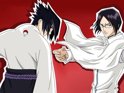 Sasuke and Uryu i pag-ibig bot hairs