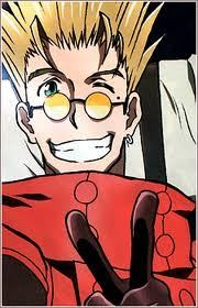 Actually my first anime Movie was Trigun: Badlands Rumble, and it was one of my first anime in general (besides Sprited Away and Howl's Moving ngome - which I consider zaidi of Americanized anime even though they originated from Japan)