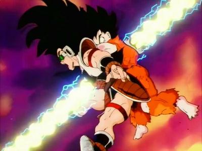 Goku And Raditz