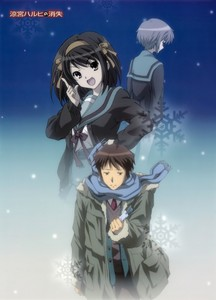 The Disappearance of Haruhi Suzumiya. I liked the dramatic side who is so different of the anime serie.