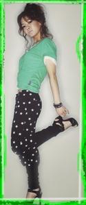 I upendo HyoYeon (Kim Choding ♥ Dancing Queen) Plus my inayopendelewa color is verde (green)