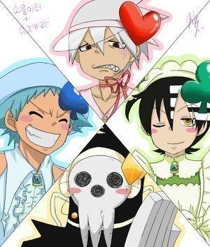 LMAO!!!!!!!!!!!!!! Soul Eater/Shugo Chara crossover XD