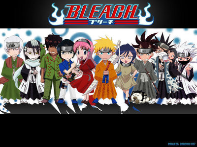 Bleach and Naruto crossover pag-ibig it