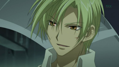 Well.... My first was mikage from 07 Ghost -.- Now he's a dragon. Ouch. Now i have no crush, in real life even. Just admiration.