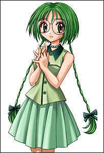 mine was لیٹش, کاہو کے پتّے from Tokyo Mew Mew....*blush*