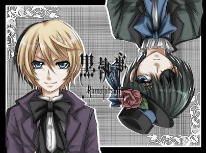 Ciel and Alois from Kuroshitsuji