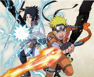 umm... Sasuke and Naruto