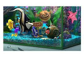 It sounds dumb but I was always impressed with the look of the مچھلی tank in Finding Nemo. So clear and pretty.