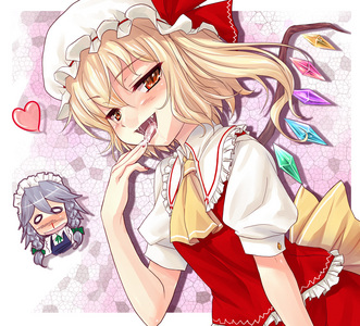 Flandre Scarlet just one of my yandere wives :3 ...wow when I put it that way I feel kinda lonely D: