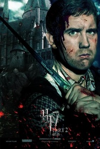 Neville Langbottom!! his character progress throughout the series, from zero to hero, from the guy who got bullied all the time to the one who lead an underground army to fight for justice,he's a BAMF!!plus matt lewis is hot, seriously he's HOT!
