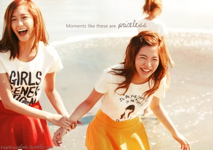 Yoona&#39;s my お気に入り <3 and I guess Sunny&#39;s my least お気に入り but I still like Sunny.