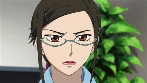 Well as far as looks this is the closest. Kirihara of Darker Than Black (i have short hair an green eyes er..hazel). I do have her straight forwardness. I have Izume Curtis'(FMA) temper an Mari Illustrious Makinami's (Evangelion 2.22) personality & mouth