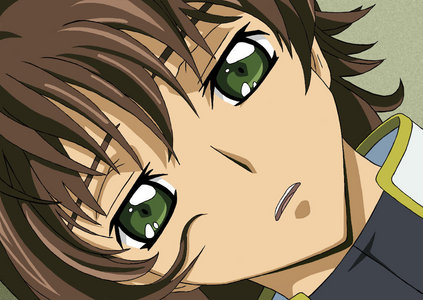 suzaku kururugi though i dont get his attitude oh well,