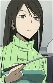 Namie Yagiri from Durarara!! Does anyone else even like her? ;_;