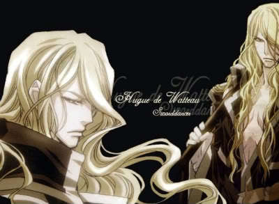 Father Hugue de Watteau from Trinity Blood.