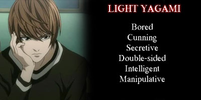 A character database cari confirmed the appearance. My Friends and a personality told me the rest. And Ryuk won't leave me alone, either...