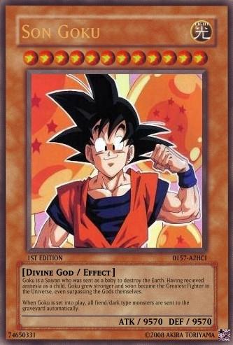I think Kagura would do this one....or goku