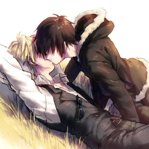 Apparently, the pic I wanted to post didn't save onto my computer. :'( So here's a Shizaya pic. :3
