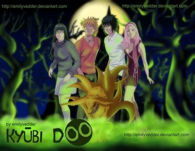 Naruto as Kyuubi Doo (Scooby Doo)!