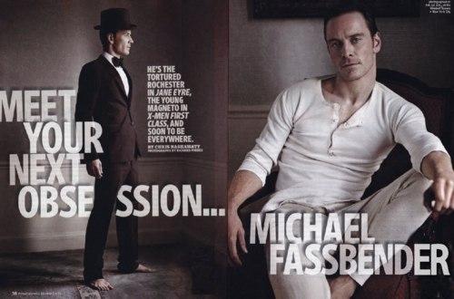 I think it's Michael Fassbender!!!