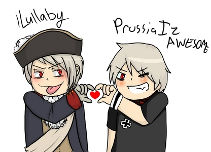 Prussia x Prussia: The only canon pairing in APH.