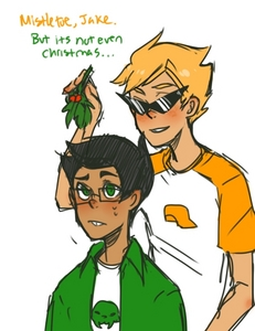 [i][b]DirkJake.[/b][/i] I cannot stress that enough. I just l'amour them sefhoiskfks. And then JohnVriska comes in as a close second. Then JohnDave.